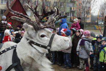 Mikołaj w Przedszkolu 20.12.2011