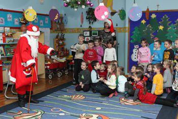 Mikołaj w Przedszkolu 6.12.2011