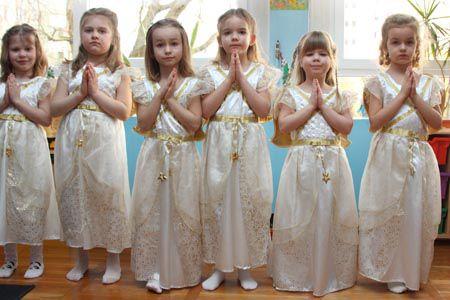 Jasełka w grupie 6-latków - styczeń 2015r.