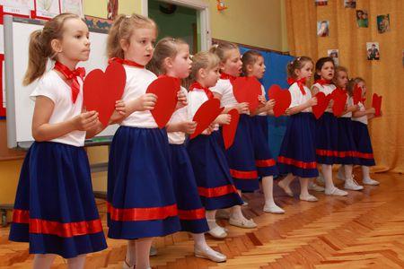 Pożegnanie Przedszkola przez najstarsze dzieci