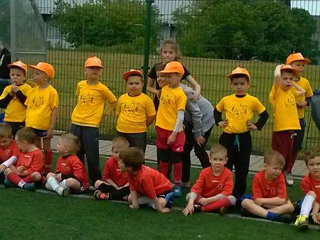 Turniej piłki nożnej 4 i 5 -latków