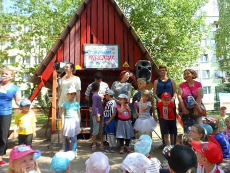 Plenerowa impreza - Bezpieczny przedszkolak