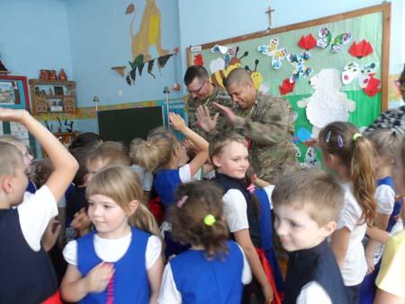 Wizyta zagranicznych żołnierzy
