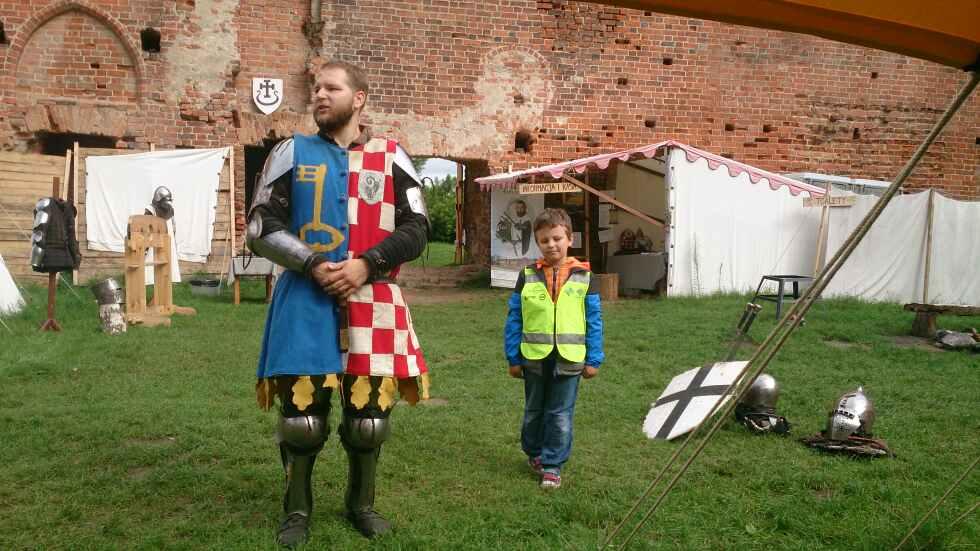 Z wizytą na zamku