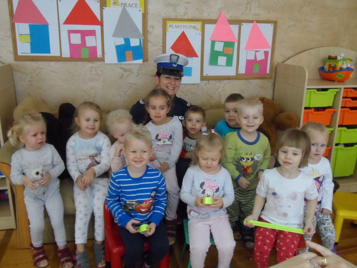 Policja w przedszkolu